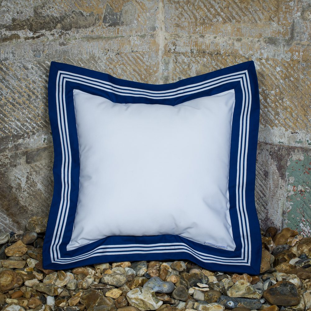 Sailor Cushion – White, Square