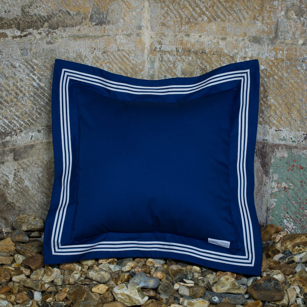 Sailor Cushion – Navy, Square