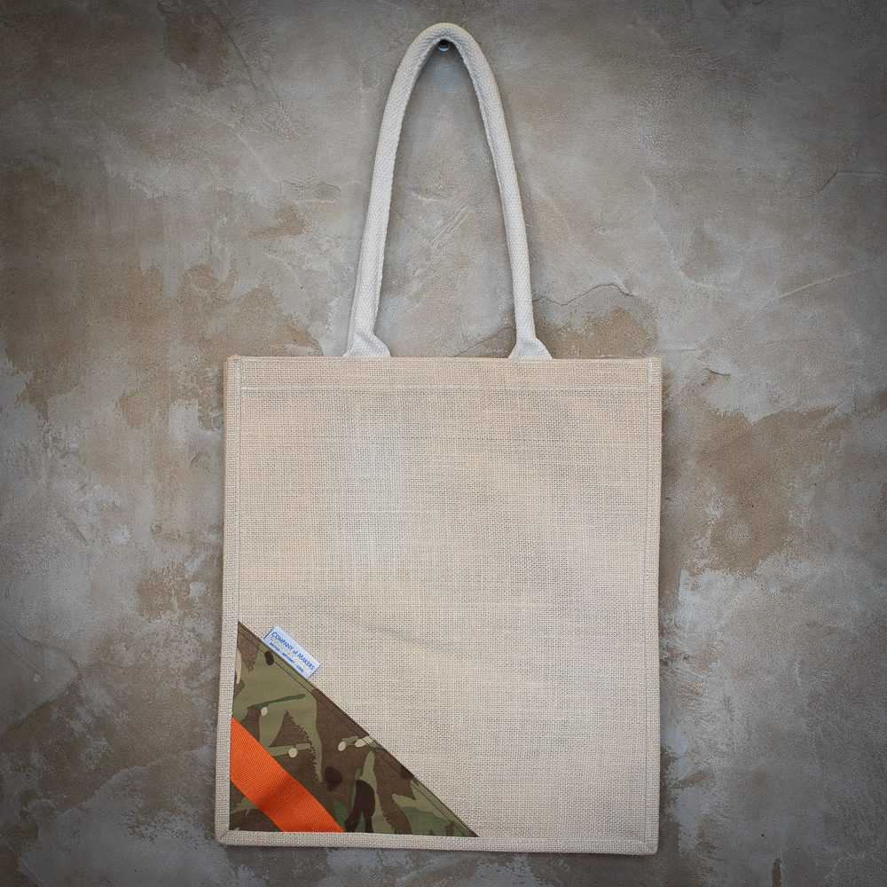 Hessian MTP Bag