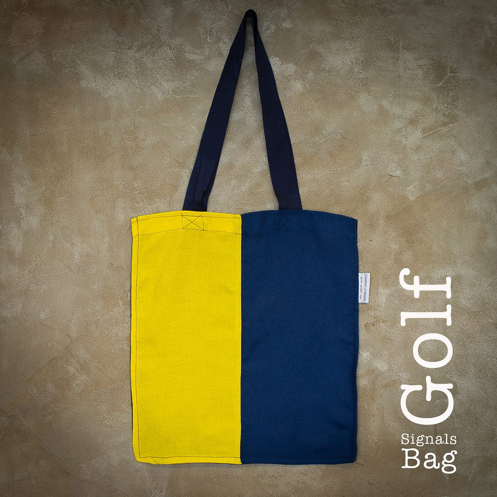 Signals Flag Tote Bag – Golf