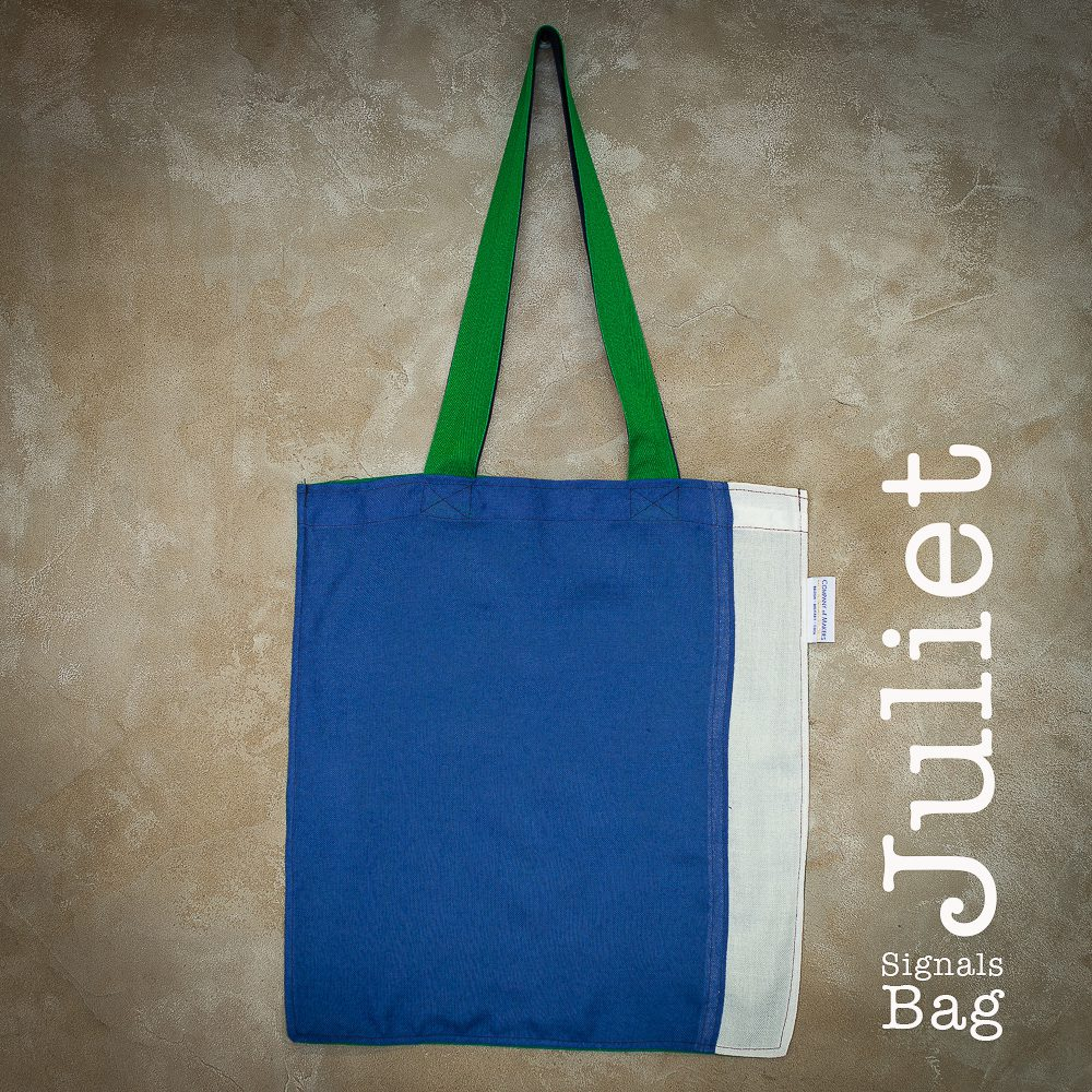 Signals Flag Tote Bag – Juliet