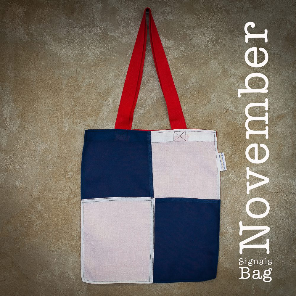 Signals Flag Tote Bag – November
