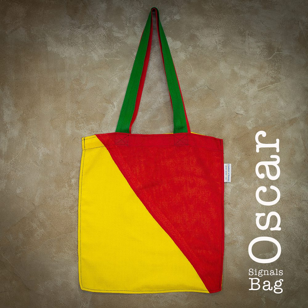 Signals Flag Tote Bag – Oscar