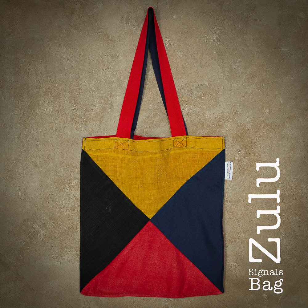 Signals Flag Tote Bag – Zulu