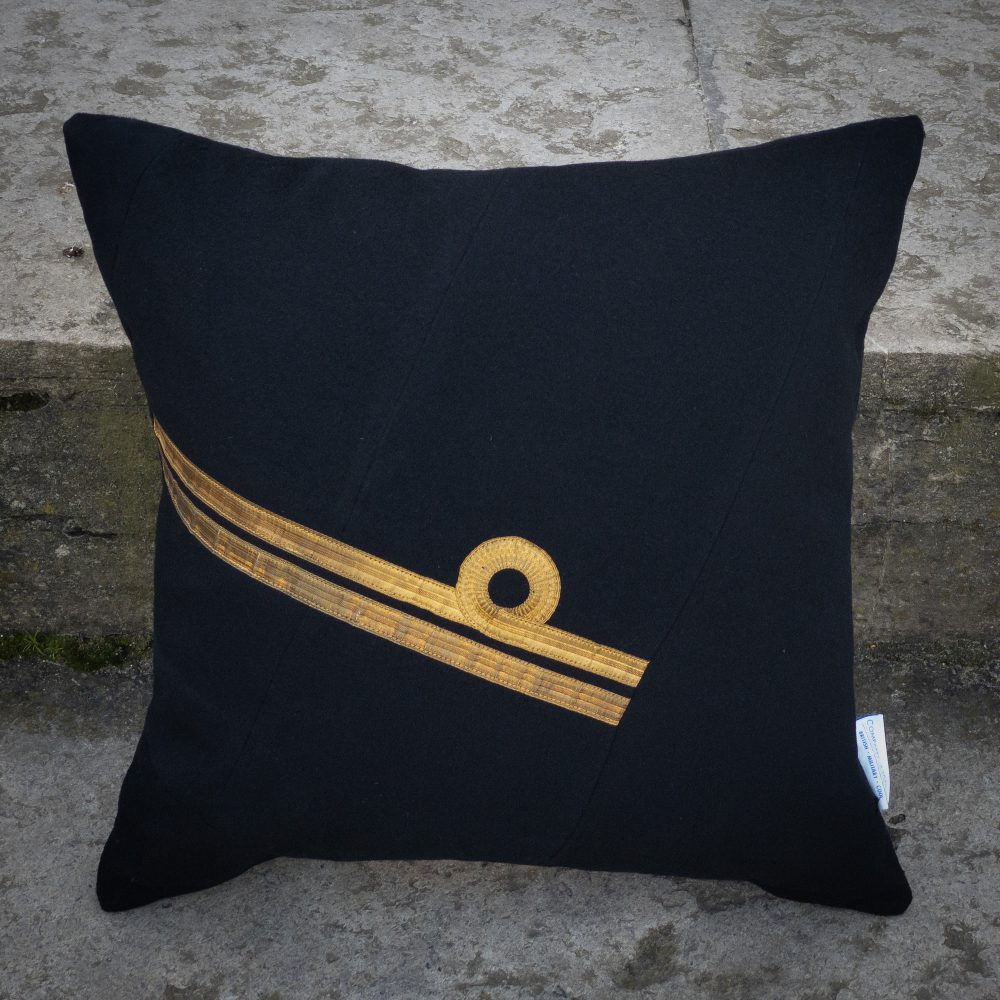 Royal Navy Lieutenant Cushion