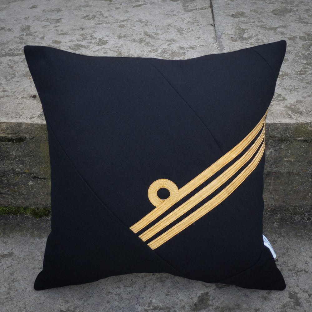Royal Navy Commander Cushion