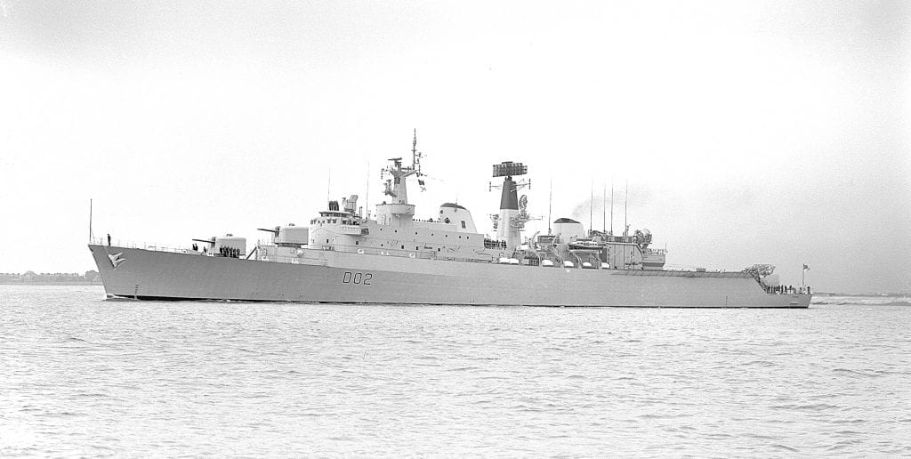 Andy Richards, HMS Devonshire - Dits and Pics