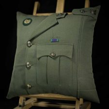 Royal Marine Major Lovat Cushion