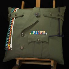 Royal Marines Lieutenant Colonel Lovat Cushion