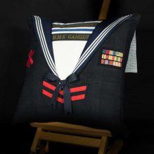Royal Navy WWII HMS Ganges Cushion